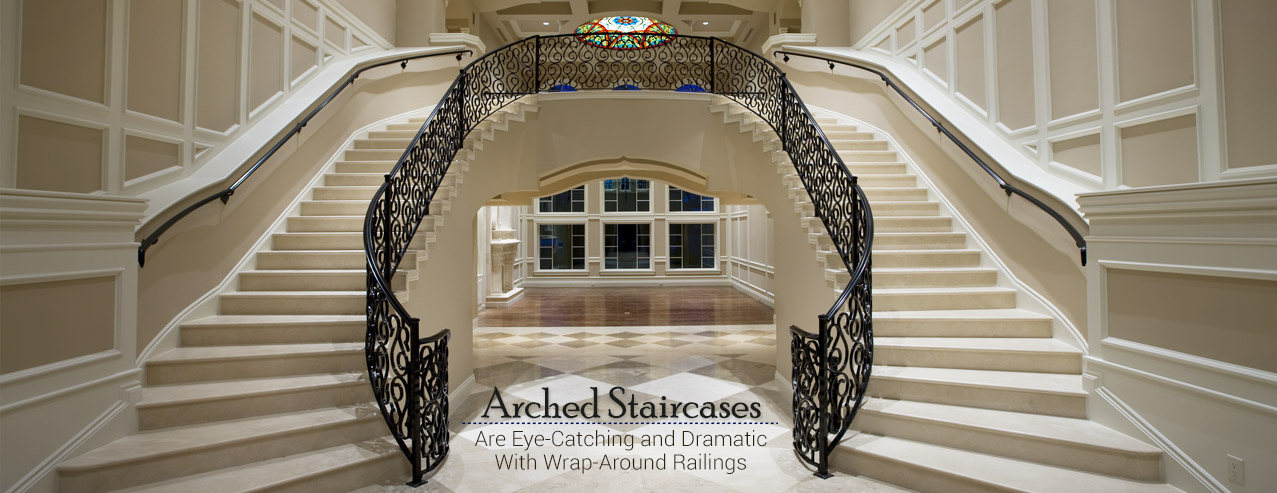 Types of staircases for your home or commercial building for Type of stairs in house